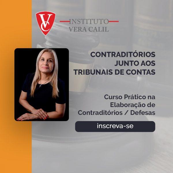 CONTRADITÓRIOS JUNTO AOS TRIBUNAIS DE CONTAS